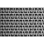 Pás Series 1100 Flush Grid Friction Top PP modrý, L=10 m š=114 mm