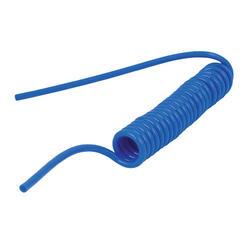 Hadice spirálová PU 6/4mm 4m modrá