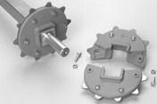 Kolo ozubené Series 400 163 mm, 10 zubů, SQ 60 mm
