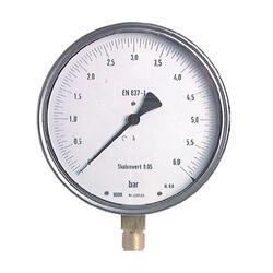 """Manometr přesný MSF 160mm 1/2"""" spodní -1 až +0,6 bar"""