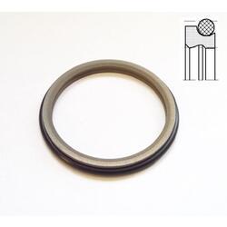 Stírací kroužek AD61 70x82,2/8,1 PTFE/NBR DIN