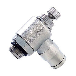 Ventil škrtící ruční kov M5x6