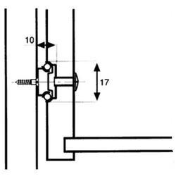Pojezd zásuvkový kuličkový polovýsuvný 182 mm - 2