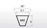 Klínový řemen XPZ 1087Lw 9,7x1100La Linea X - 2