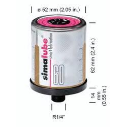 Automatická maznice Simalube SL01-60 - univerzální tuk - 2