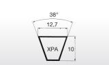 Klínový řemen XPA 732Lw 12,7x750La Linea X - 2