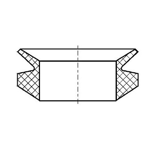 V-kroužek VS38 NBR60