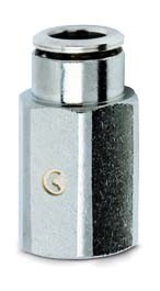 Šroubení nástrčné přímé, vnitřní závit 6463-4-M5
