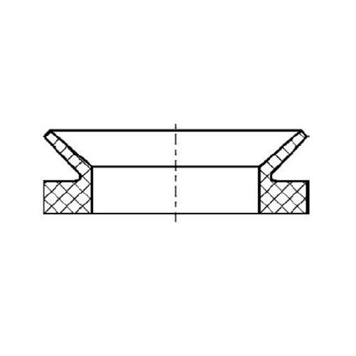 V-kroužek VA190 NBR60