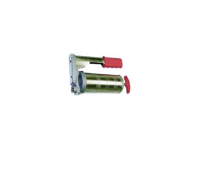Lisí mazací pákový s kovovou nádrží 300cm3 - s plnícím ventilem a dekompresním šroubem
