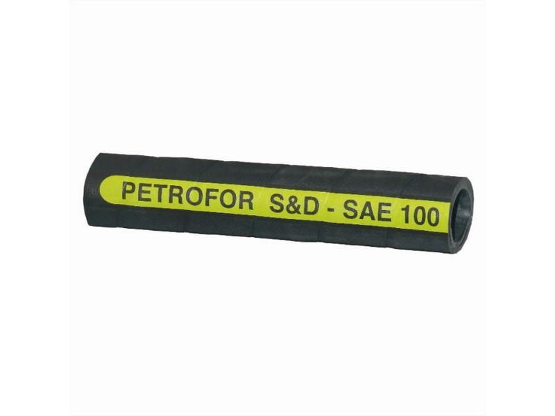 PETROTEC 30 10/15,8 - tlaková hadice pro ropné produkty a glykoly, -40°C až +135°C, 30 bar