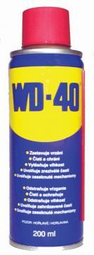 Mazivo univerzální WD-40 200 ml