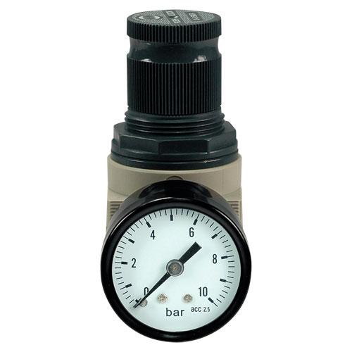 """Regulátor tlaku DM 1/4"""" plast"""